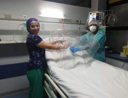 Cápsulas de seguridad para in/extubación de pacientes COVID-19